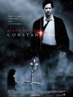 Directed by Francis Lawrence. With Keanu Reeves, Rachel Weisz, Djimon Hounsou, Shia LaBeouf. Supernatural exorcist and demonologist John Constantine helps a policewoman prove her sister's death was not a suicide, but something more. Keanu Reeves Constantine, Film Constantine, Scary Movies, Great Movies, Hd Movies, Horror Movies, Movies Online, Film Online, Awesome Movies