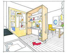 Klapptisch | Ideen Rund Ums Haus | Pinterest | Klapptisch, Küche Und  Hobby /bastelraum