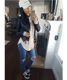 mommylife all day everyday ootd Hat Hoodie Jacket Sporty Outfits Day Everyday fashiongalclothing hat hon Hoodie Jacket mommylife ootd windsorstore Sporty Outfits, Mom Outfits, Cute Casual Outfits, Everyday Outfits, Everyday Fashion, Stylish Outfits, Look Fashion, Fashion Outfits, Womens Fashion