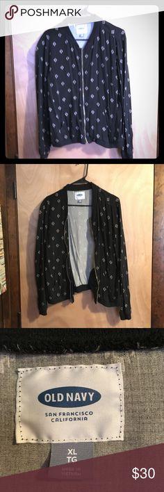 BLACK FRIDAY SALE! Old Navy Light Jacket Cute Old Navy Printed Jacket   Make an Offer! Old Navy Jackets & Coats