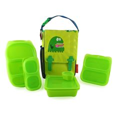 Pin to win @Goodbyn Lunchbox Green Monster Lunch Set here>  http://woobox.com/9rnc9j?web=1  #backtoschool #giveaway