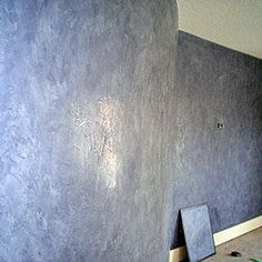 how to make venetian plaster shine