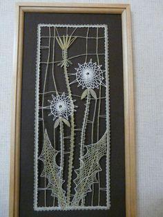 Crochet Flower Patterns, Crochet Flowers, Lace Heart, Lace Jewelry, Bobbin Lace, Lace Detail, Fiber Art, Art Projects, Butterfly