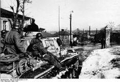 Cercanias da cidade de Kharkov em março de 1943.