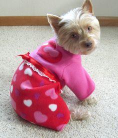 Adorable Valentines Dog Pajamas!!