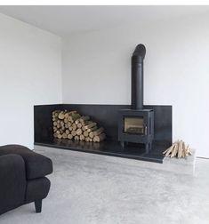 Home Fireplace, Fireplace Design, Fireplace Ideas, Black Fireplace, Simple Fireplace, Home Furniture, Furniture Design, Cheap Furniture, Furniture Layout