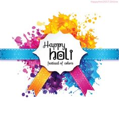 Happy Holi 2017 HD Clipart Images-Wallpapers