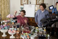 """James Marsden, filming """"Hop"""", where he trains to be a human Easter Bunny."""