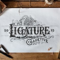 Cool Lettering from Tobias Saul