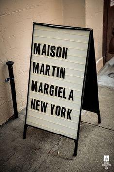 ROYAL ROULOTTE -★- MAISON MARTIN MARGIELA NYC