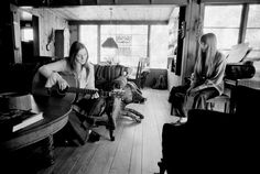 Joni Mitchell & Judy Collins, Lookout Mountain, Laurel Canyon, CA. Photo by Rowland Scherman for LIFE magazine. Stephen Stills, Michelle Phillips, Topanga Canyon, Hippie Man, Lookout Mountain, Laurel Canyon, Oral History, Crazy People, Free People