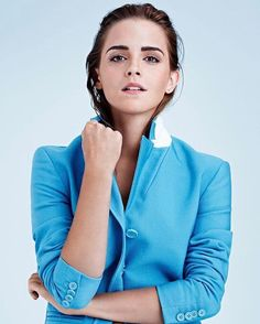"""Birthday girl @EmmaWatson only grows more sure of herself with age. """"As I've gotten older I've escaped the ravages of puberty and found confidence in my own skin. If I can wear less care less do less and be accepting of my natural state that's a positive thing"""" she tells @kahlanabarfield in our May issue. Click the link in our bio for the 4 beauty products she swears by. : @kerryhallihan / @august_image  via INSTYLE MAGAZINE OFFICIAL INSTAGRAM - Fashion Campaigns  Haute Couture  Advertising…"""