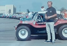 Old Red, the first Meyers Manx dune buggy, to go on National Historic Vehicle Register