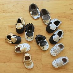 GroopDealz | Baby Moccasins - 6 New Styles!