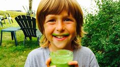Raw Food Levi's Pear and Spinach Smoothie is a recipe to try, if not just for health than for cool green mustaches!  A Taste of Raw: 7 Days of Smoothies 'n' Salads is designed for standard American diet eaters all the way to vegans who want to find out what a week on an all or mostly raw diet is like as a springboard for more dietary changes: https://Store.Fruit-Powered.com/product/a-taste-of-raw-food-7-days-of-smoothies-n-salads-by-brian-rossiter-e-book/.