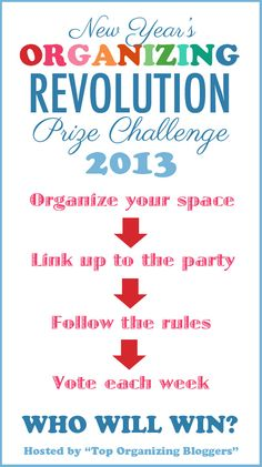 Rules for the Organizing Revolution: Prize Challenge | OrganizingMadeFun.com