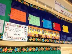 Data wall to motivate students in mastering their sight words!
