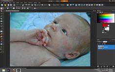 My editing process - Corel Paint Shop Pro x4