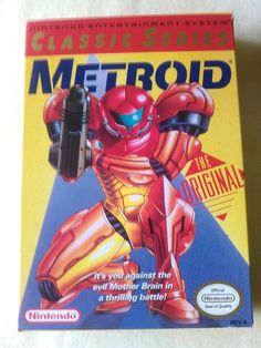 Metroid Classic Series The Original Nintendo  Only $12.00 free shipping 2 hours left