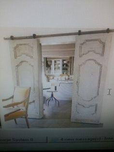 Love the repurposed doors