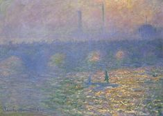 Claude Monet, Waterloo Bridge, London, 1900