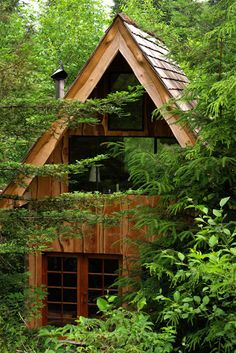 Japanese Forest House by Brian Schulz, Northern Oregon Coast