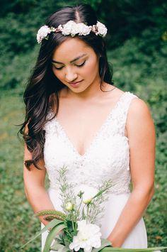 flower wedding wreath