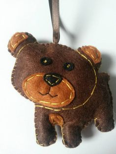 Check out this item in my Etsy shop https://www.etsy.com/listing/208381530/brown-bear-forest-bear-ornament-woodland
