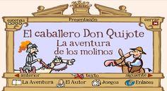 """Aplicación online para llevar """"Don Quijote"""" a la clase"""