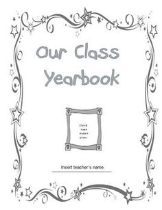 1000 images about 5th grade yearbook ideas on pinterest for Templates for yearbook pages