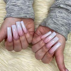 French Manicure Acrylic Nails, Beauty, Beauty Illustration