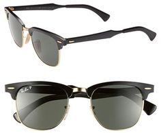 #Ray-Ban                  #Eyewear                  #Ray-Ban #Polarized #'Clubmaster' #49mm #Sunglasses #Green #Size              Ray-Ban Polarized 'Clubmaster' 49mm Sunglasses Green One Size                                           http://www.snaproduct.com/product.aspx?PID=5459420