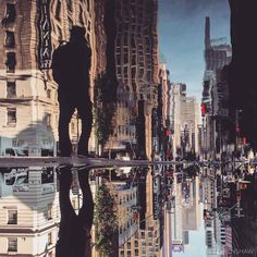 Photo Reflections of NYC Streets | Abduzeedo Design Inspiration