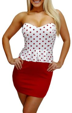 Cherry Pie-Great Glam is the web's top online shop for trendy clubbin styles, fashionable party dress and bar wear, super hot clubbing clothing, stylish going out shirt, partying clothes, super cute and sexy club fashions, halter and tube tops, belly and