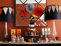 Craft, Interrupted: 13 for Halloween ~ Party Ideas - Halloween Boofast (Breakfast) Party!