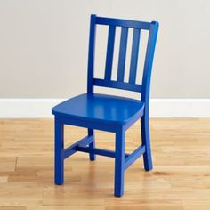 Inspiration for kid chairs?! Parker Play Chair (Cobalt)    The Land of Nod