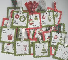 My Paper Creations: gift tags
