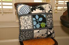 Interesting ideas for decor: Идеи подушек в стиле печворк. Patchwork pillows