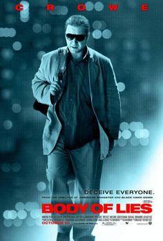 .Roger Ferris es un agente de la CIA con una gran reputacion a sus espaldas que es enviado a Oriente Medio para encontrar a un alto cargo de la. Hd Streaming, Streaming Movies, Hd Movies, Movies And Tv Shows, Movie Tv, Upcoming Movies 2021, Body Of Lies, Black Hawk Down, Mark Strong