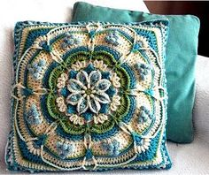 What it's worth and try - crochet pattern Pondoland Square