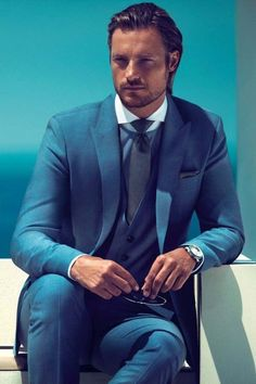 Destination wedding suit of the week: by Hugo Boss