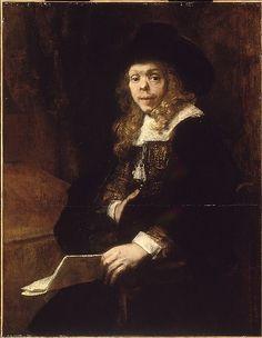 Rembrandt (Rembrandt van Rijn) (Dutch, Leiden 1606–1669 Amsterdam). Portrait of Gerard de Lairesse, 1665–67. The Metropolitan Museum of Art, New York. Robert Lehman Collection, 1975 (1975.1.140)