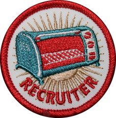 Toaster Oven - You've Earned This Badge If… • You are making Ellen proud by meeting your recruiting quotas.