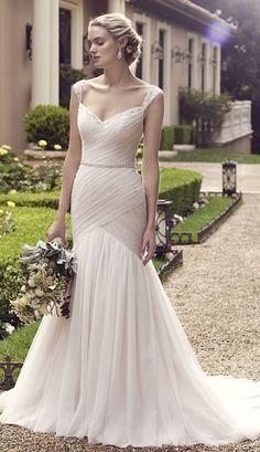 Wedding dress idea; Featured Dress: Casablanca Bridal