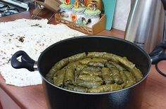 Traditional Armenian food - dolma...My mommy has cooked it(p.s. it was veeery tasty)...