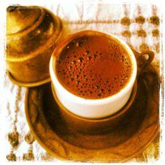 Turkish coffee ... So bitter...