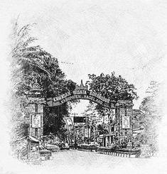 Dari Pertigaan Blondo, Mungkid, menuju Candi Borobudur. #Kab_Magelang Borobudur, Painting, Art, Art Background, Painting Art, Kunst, Paintings, Performing Arts, Painted Canvas