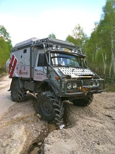 Unimog. Yes I would drive this down Ocean Drive!!! Masa what???
