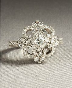 So intricate and antique looking. Dream ring.