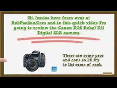 Canon EOS Rebel T6i Digital SLR Camera Review - Canon Cameras - Canon Re...